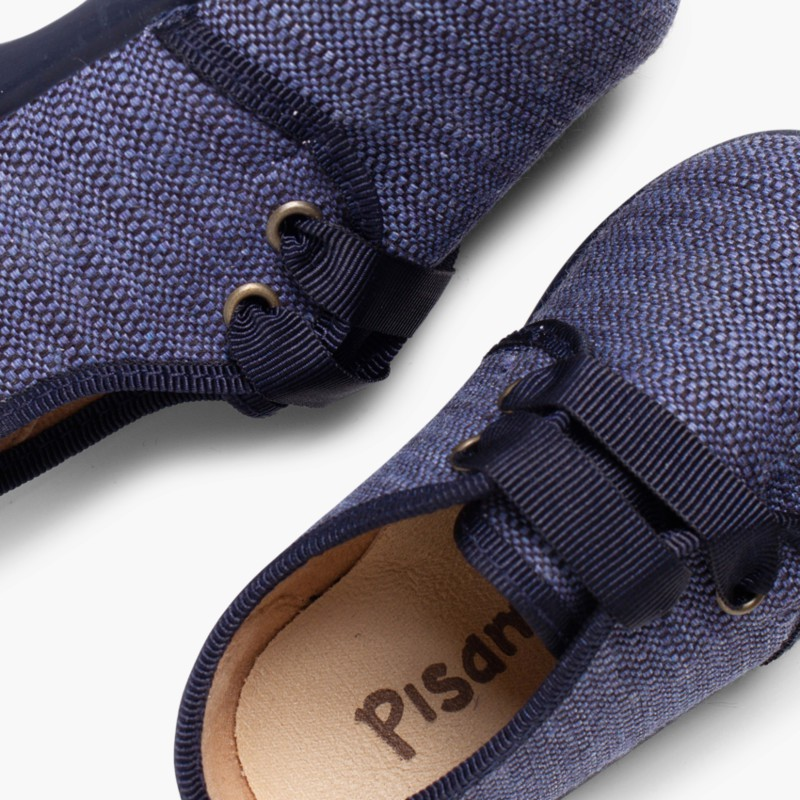Scarpe di Tessuto Tipo Blucher Bambino