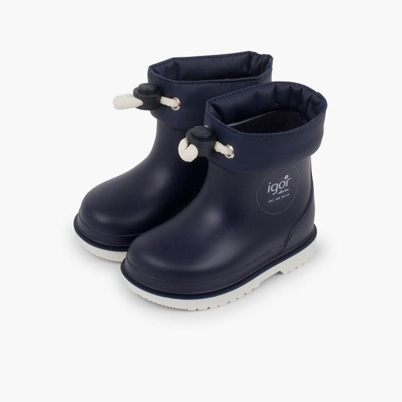 Stivali di gomma bassi regolabili bambini piccoli