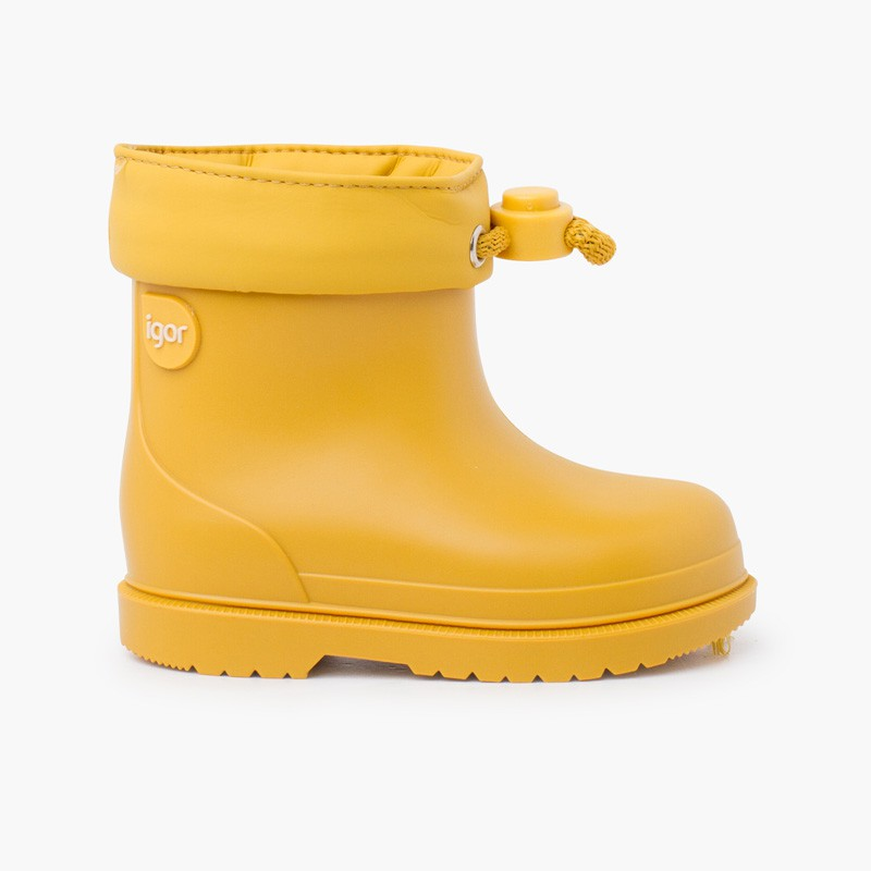 Stivali da pioggia per bambini dai colori pastello