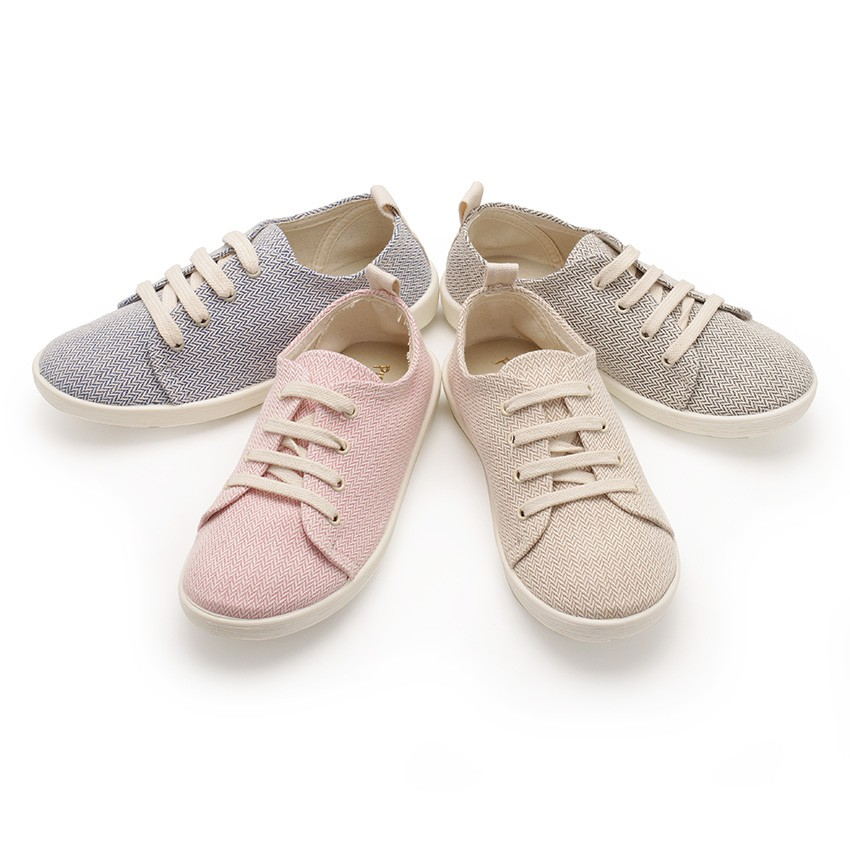 Sneakers Casual Tela Twill