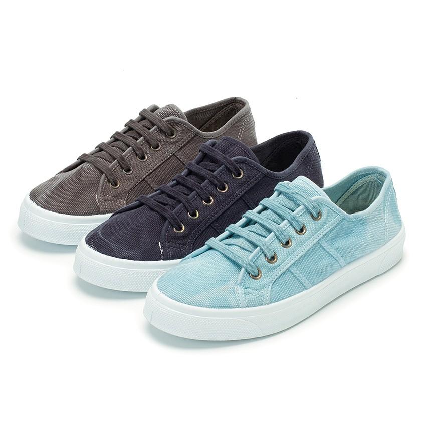 Sneakers Lacci Tela Slavata