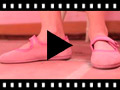 Video from Scarpe bambina scamosciate Velcro