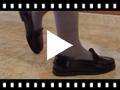 Video from Mocassini da Bambina per la scuola modello di pelle