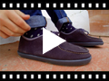 Video from Scarpe da barca Scamosciate Bambini e Adulti