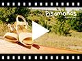Video from Sandali nappa e camoscio chiusura fibbia