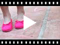 Video from Ballerine Elastico Scarpe Tela Nastro