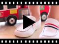 Video from Mocassini Tela Bambino bandiera