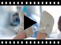 Video from Scarpe da barca tela lacci bambino