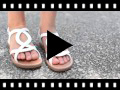 Video from Sandali Bambina alla romana con ovale