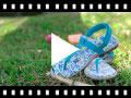 Video from Sandali infradito tela velcro bambine