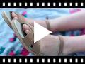 Video from Sandali effetto scamosciato fibbia
