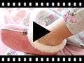 Video from Pantofole Finto Camoscio Fodera tipo Agnello