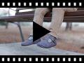 Video from Scarpe Occhio di Bue Bambino effetto Scamosciato