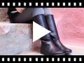 Video from Stivali Alti Pelle Lisci
