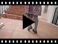 Video from Scarpe Bambina Finto Camoscio con Fiocco