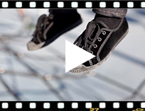 Video from Scarpe velluto con lacci