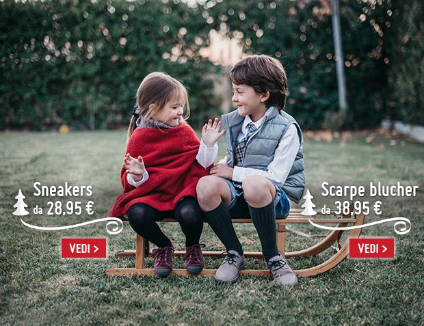 Sneakers bambina Natale 2017