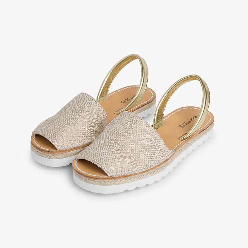 Sandali minorchine bambina e donna