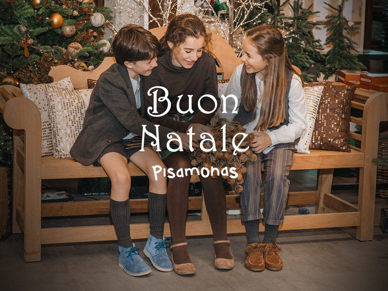 Lookbook Pisamonas Natale