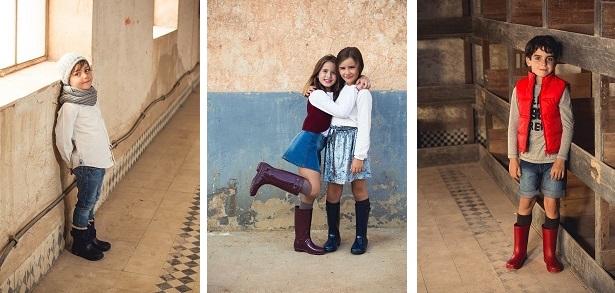 Idee per abbinare stivali per la pioggia da bambini