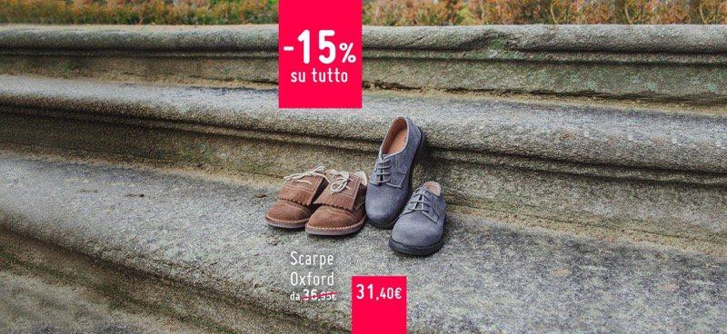 Scarpe Blucher per Bambini al -15%