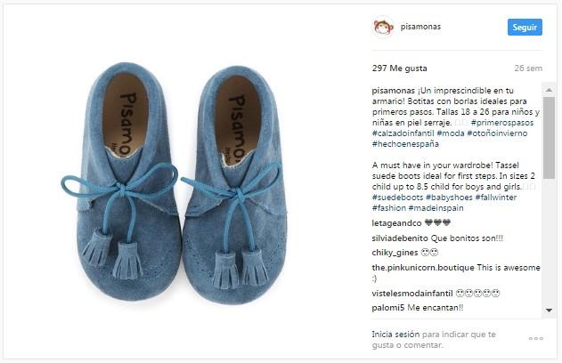 Instagram pisamonas stivali bambino