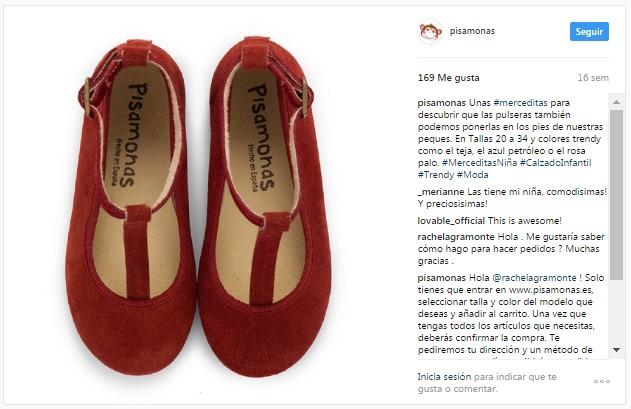 Instagram pisamonas scarpe con cinturino