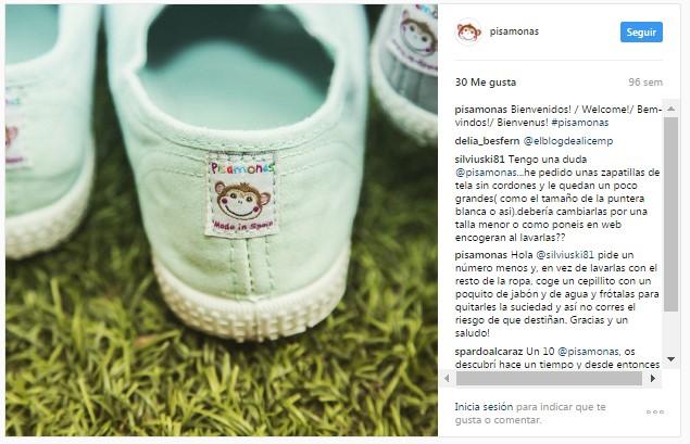Instagram pisamonas sneakers