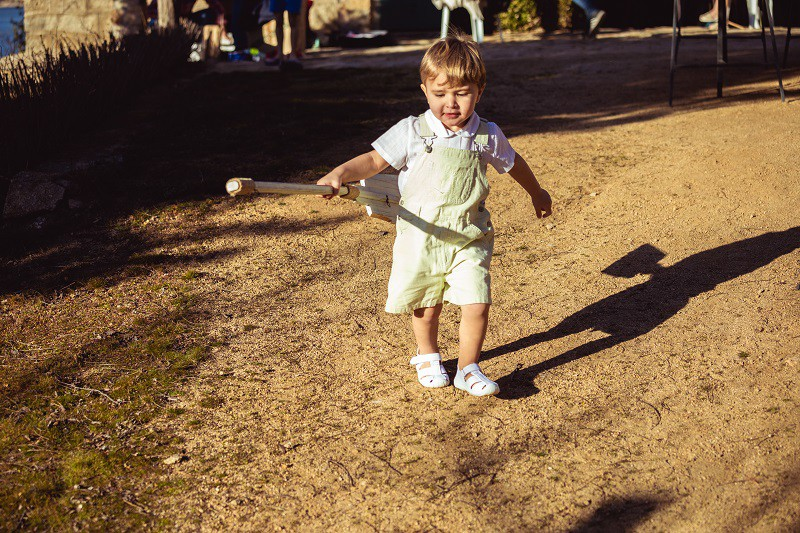 Sandali tipo T-bar per bambini Pisamonas